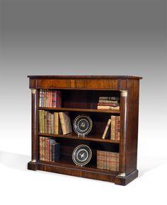 antique dwarf bookcase - Antique Bookshelves