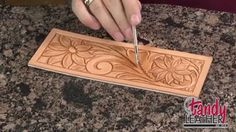 Learning Leathercraft with Jim Linnell, Lesson 5: Beveling Lines