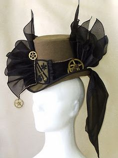 bumble button: Steam Punk and Free Clip Art of 1895 Halloween Costumes