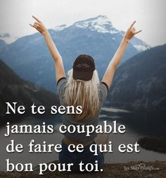 Quotes and inspiration QUOTATION - Image : As the quote says - Description Ne te sens jamais coupable Sharing is love, sharing is everything Quotes Español, Art Quotes Funny, Hope Quotes, Inspirational Quotes, Uplifting Quotes, Motivational Quotes, Funny Art, Positive Life, Positive Quotes