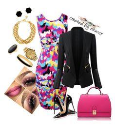 """Super dress today"" by nkmcr #blogger #blog #lifestyle #look #nakimicr #moda #tendencia #fashion #fashionblogger #work #nkmcr #nkm"