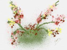 #Amenicanvas Gardens #watercolors Mario Ameni Painters #amenimario