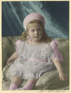 Grand Duchess Anastasia in 1904 by Maydy.deviantart.com on @DeviantArt