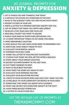 30 diary prompts for anxiety and depression that can inspire you! 30 diary prompts for anxiety and depression that can inspire you! Best Picture For Self Discovery Journal Prompts ideas For Your Thoughts And Feelings, Negative Thoughts, Anxiety Thoughts, Anxiety Facts, Anxiety Tips, Positive Thoughts, Vie Motivation, Writing Tips, Mental Health