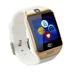 Tera Apro Bluetooth LCD Touch Intelligent Watch Wristband Pedometer Home Control Color White with Steps Tracking Phone Anti-lost Call Message Sync NFC Support Micro SIM and TF Card Mobile Watch, Watch For Iphone, Iphone 6, Apple Watch Accessories, Women Accessories, Phone Tripod, Camera Watch, Best Smart Watches, Smartphone Holder
