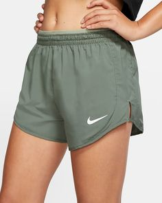 Nike Tempo Lux Women's Running Shorts Size S (Juniper Fog) Running Shorts Outfit, Summer Shorts Outfits, Sporty Outfits, Nike Outfits, Running Shoes, Cute Running Clothes, Running Tips, Running Schedule, Running Outfits