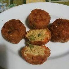 Kölesfasírt | Varga Gábor (ApróSéf) receptje - Cookpad receptek Baked Potato, Paleo, Muffin, Potatoes, Baking, Breakfast, Ethnic Recipes, Foods, Morning Coffee