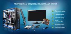 We do more than just repair gadgets but we set up, recover and remove viruses from computers! For home and office