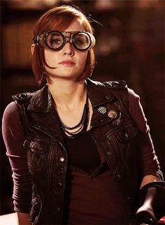 """What else? Okay, """"repair auto-vac."""" Slice-o-pie. """"Tighten and lubricate zip line."""" Sounds kind of dirty when you say it like that... ~ Claudia Donovan, Warehouse 13"""
