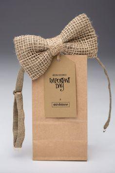 bow tieMens burlap bow tie burlap Bowtie rustic by importantday