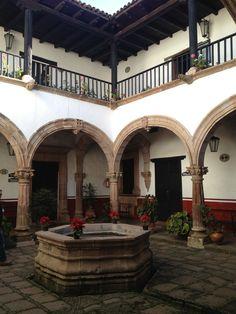 Casa de los Once Patios. Pátzcuaro, Michoacan.