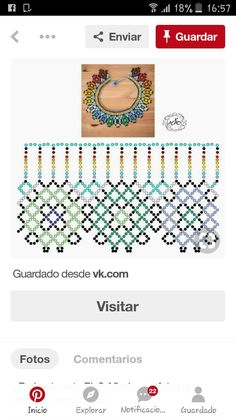 Diy Necklace Patterns, Beaded Bracelet Patterns, Beading Patterns, Fabric Origami, Bead Loom Bracelets, Necklace Tutorial, Handmade Beads, Beading Tutorials, Bead Weaving