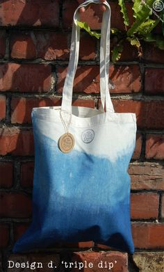 Our calico tote bags are all hand-dyed in plant-derived, natural indigo and patterned with a variety of Japanese Shibori resist techniques. Tie Dye Bags, Shibori Tie Dye, Linen Bag, Tie Dye Patterns, Tote Bag, Cotton Bag, Cloth Bags, Creations, Textiles