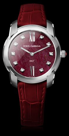 Women's Watch - Steel with Natural Ruby - D&G Watches | Dolce & Gabbana Watches for Men and Women