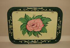 Vintage TV trays Vintage Tv Trays, Vintage Metal, Kitchen Tray, Lap Tray, Serving Trays, Folded Up, Wedgwood, Shabby Chic, Bed