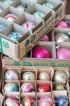 Vintage Christmas, shiny brite brand was the one to have.