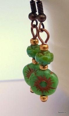 Summer Loving.... Summer Loving, Designer Earrings, Table Lamp, Beads, Unique, Handmade, Home Decor, Style, Beading