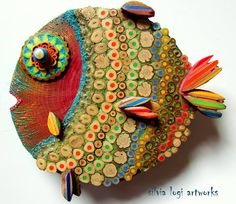 fab fish by Silvia Logi Artworks