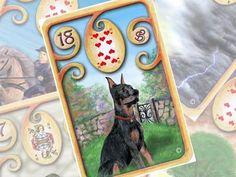Aprenda sobre o oráculo do Baralho Cigano Petit Lenormand. Seus significados, tiragens, relações e sobre as combinações da carta Cachorro.