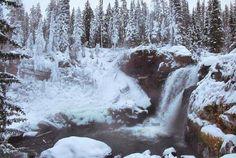 Yellowstone goes full Narnia in the winter [4235x2844] OC -...