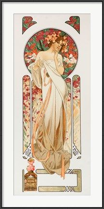 Another beautiful Alphonse Mucha Art Nouveau Painting. I love his Museum in Prague. Disney Art Nouveau, Art Nouveau Mucha, Alphonse Mucha Art, Art Nouveau Poster, Art Nouveau Design, Mucha Artist, Illustration Photo, Illustration Art Nouveau, Jugendstil Design