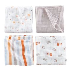 Aden and Anais Swaddles exclusively at The Land of Nod