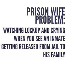 Like a Baby! Prison Wife Life www.strongprisonwives.com