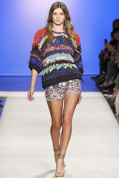 SS12 DIY trend - Isabel Marant fabric yarn knitwear