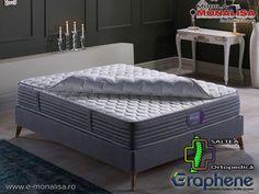 Saltea Ortopedica Antistres Antistatica Graphene Dream 160x200 Mattress, Bed, Furniture, Home Decor, Decoration Home, Stream Bed, Room Decor, Mattresses, Home Furnishings