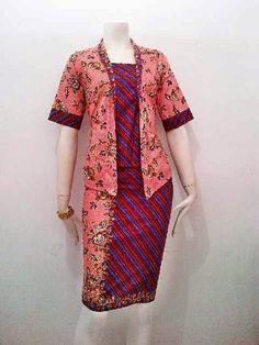 Batik Sarimbit Gamis cantik nan elegan Bahan kombinasi batik