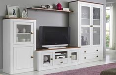 Tv Wall Design, House Design, Muebles Home, Rack Tv, Dream Furniture, Tv Storage, Decoration, Small Spaces, Family Room