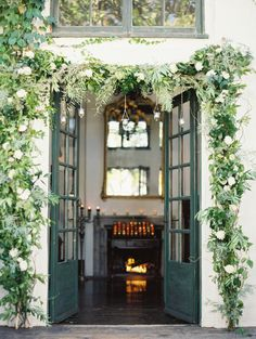 Romantic California Wedding in San Juan Capistrano from Erich McVey Photography - wedding ceremony idea Future House, My House, Outdoor Spaces, Outdoor Living, Interior Exterior, My Dream Home, Beautiful Homes, Sweet Home, Art Deco