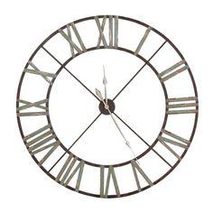 wall clock metal images.