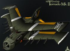Tornado Mk.II by https://darkenedfantasies.deviantart.com on @DeviantArt