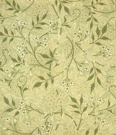 Jasmine wallpaper, by William Morris. England, late 19th century