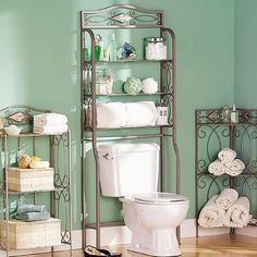 """Zula Space saver Free Standing 27.25"""" W x 66.5"""" H Over the Toilet Storage"""
