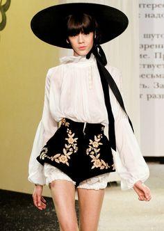 """hautekills: """" Ulyana Sergeenko haute couture s/s 2013 """""""