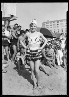 The world was not ready for an ermine bikini in 1927—and it is still not ready. USC, Dick Whittington Collection.  http://digitallibrary.usc.edu/cdm/ref/collection/p15799coll170/id/70191