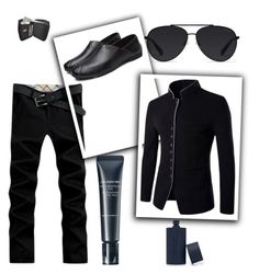 """Zaful #8"" by soofficial87 ❤ liked on Polyvore featuring 21 Men, Bally, Shiseido, men's fashion and menswear"