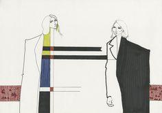 Paul Smith London Womenswear S/S 2014 by Valerie Servais.