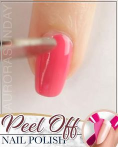 Healthy Nail Polish, Healthy Nails, New Nail Colors, Brittle Nails, Applying Eye Makeup, Manicure Y Pedicure, Easy Peel, Acetone, Beauty Supply