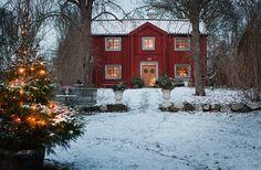 Christmas at Selaön, Sweden   photo: Lina Östling