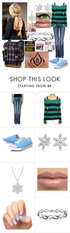 """""""Ice Princess of Rebellion"""" by marissamays ❤ liked on Polyvore featuring ICE ICEBERG, Converse, Bling Jewelry, Ice and Disney"""