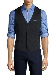 Pocket Square Vest