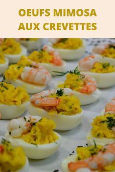 Une petite recette sympa à faire en entrée ou pour un repas et qui plaira autant aux enfants qu'aux adultes, ces oeufs mimosa aux crevettes 🙂 Très facile et rapide à faire et surtout avec très peu d'ingrédients.  Avec une salade et une mayonnaise maison vous êtes sûrs que ce sera un succès !!! Concernant la mayonnaise vous pouvez utiliser celle du commerce ou une mayonnaise maison, en général quand j'ai du temps je prépare une sauce aïoli. Cooking Time, Cooking Recipes, Commerce, Barbecue, Food And Drink, Ethnic Recipes, Recipes, Entrance Halls, Aioli Sauce
