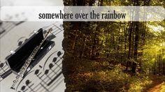 Partitura somewhere over the rainbow Flauta Traversa