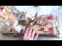 GDT EVG Garden Klub Victorian Romance Pop Up Album - YouTube