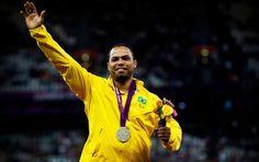 Claudiney Batista dos Santos - medalha de prata - lançamento de dardo (Foto: Divulgação/CPB)