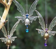 NEW! Fairy Suncatcher Small - Birthstones & 28 More Swarovski Colors - Silver or gold toned Fairy