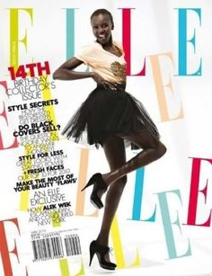 Supermodel Alek Wek, the first African woman to grace the cover of Elle Magazine, made a heartfelt homecoming to the South Sudan in July to honor the new nation's first anniversary of statehood.